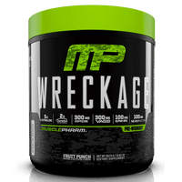 MusclePharm Wreckage Pre-Workout 25 Servings - Fruit Punch
