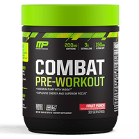 MusclePharm Combat Pre-Workout 30 Servings - Fruit Punch