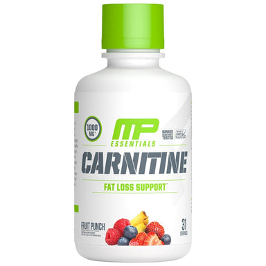 MusclePharm Combat Essentials Liquid Carnitine 31 Servings - Fruit Punch