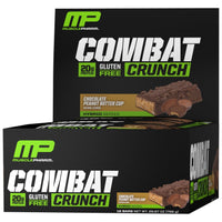 MusclePharm Combat Crunch 12 Protein Bars - Chocolate Peanut Buttercup
