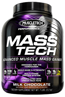 MuscleTech Performance Series Mass Tech Advanced Muscle Mass Gainer - Milk Chocolate