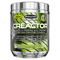 MuscleTech Performance Series Creactor 120 Servings - Lemon-Lime Twist