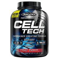 MuscleTech Performance Series Cell Tech Hardgainer Creatine Formula - Fruit Punch