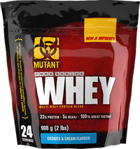 Mutant Core Series Whey Protein Blend 2lbs - Cookies & Cream