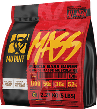 Mutant MASS Muscle Mass Gainer 5lbs - Coconut Cream