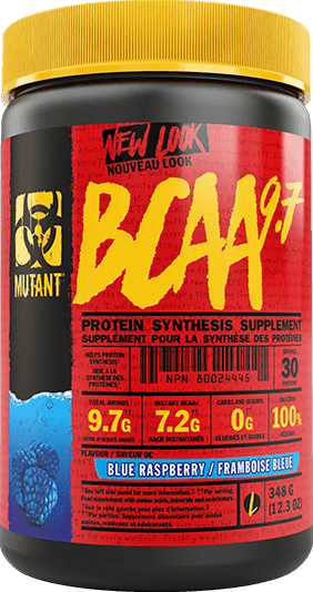 Mutant BCAA Protein Synthesis Supplement 348g / 30 Servings - Blue Raspberry