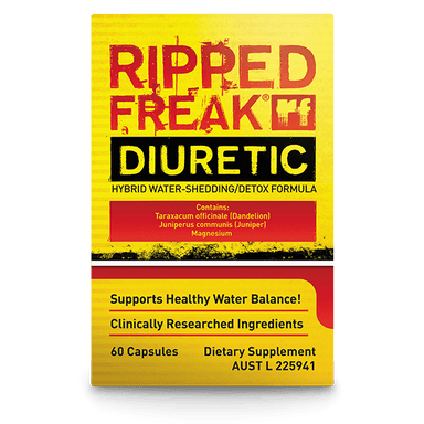 PharmaFreak Ripped Freak Diuretic Hybrid Water-Shredding/Detox Formula 60 Capsules