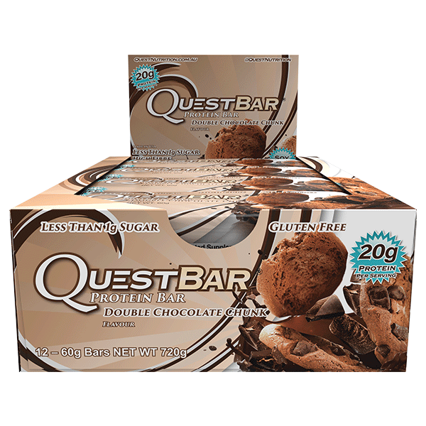 Quest Nutrition Protein Bars - Double Chocolate Chunk