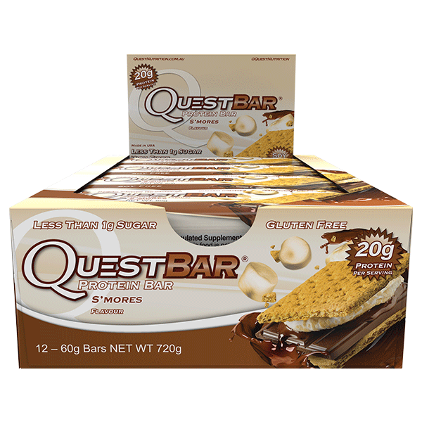 Quest Nutrition Protein Bars - S'mores