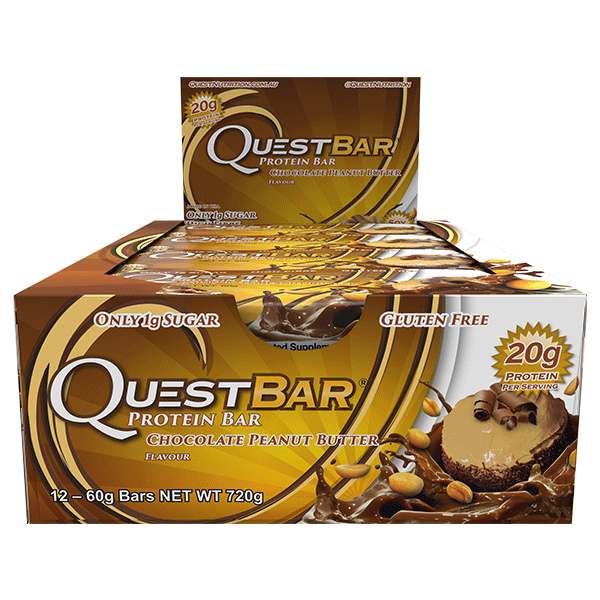 Quest Nutrition Protein Bars - Chocolate Peanut Butter