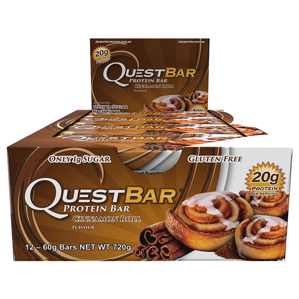 Quest Nutrition Protein Bars - Cinnamon Roll