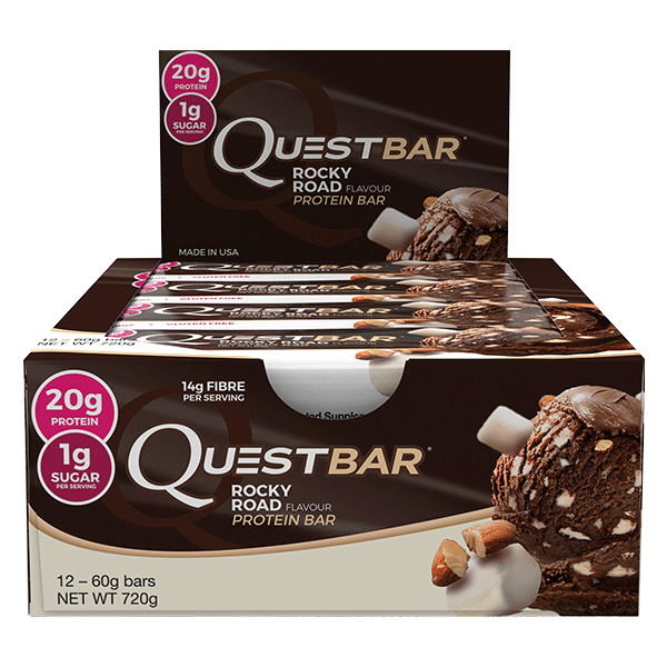 Quest Nutrition Protein Bars - Rocky Road