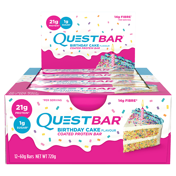 Quest Nutrition Protein Bars - Birthday Cake