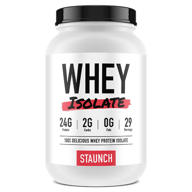 Staunch Nation Whey Isolate 29 Servings - Hot Chokkie