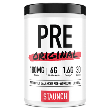Staunch Nation PRE Original Pre-Workout Formula - Blue Baz Berry