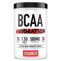 Staunch Nation BCAA + Hydration Intra-Workout Formula - White Grape