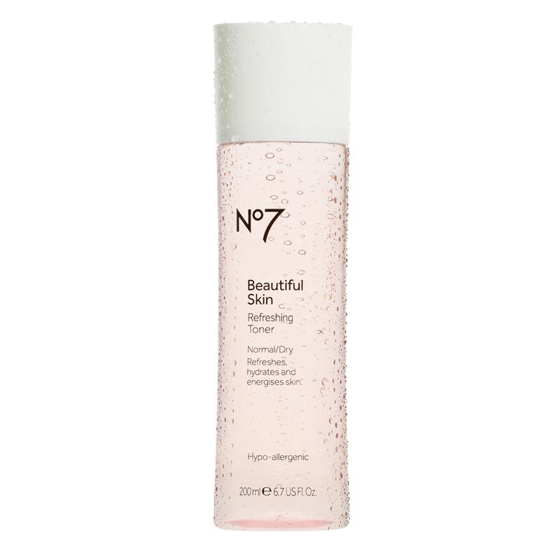 No7 Beautiful Skin Refreshing Toner Normal/Dry 200ml