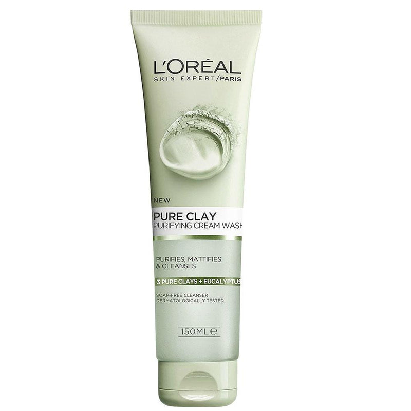 L'Oreal Pure Clay Purifying Cream Wash