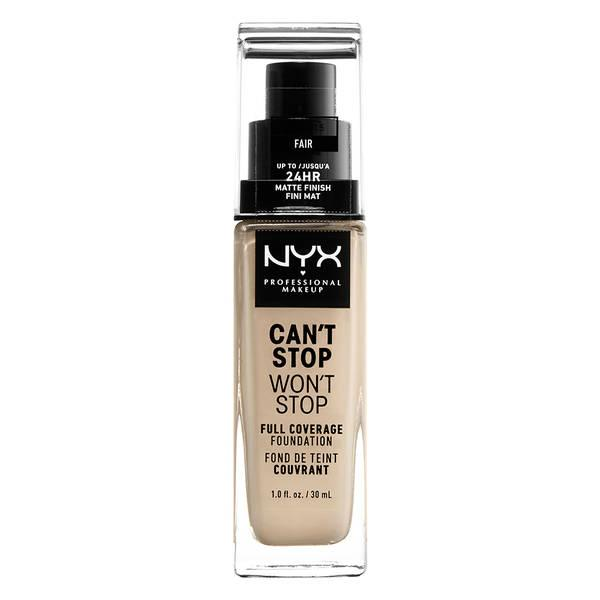NYX Can't Stop Won't Stop 24HR Foundation | Fair