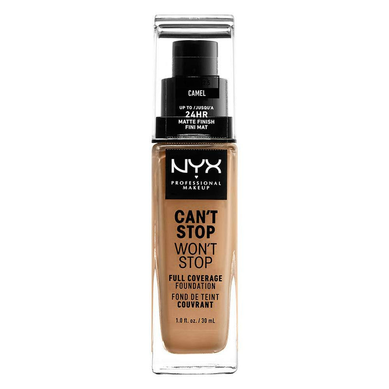 NYX Can't Stop Won't Stop 24HR Foundation | Camel