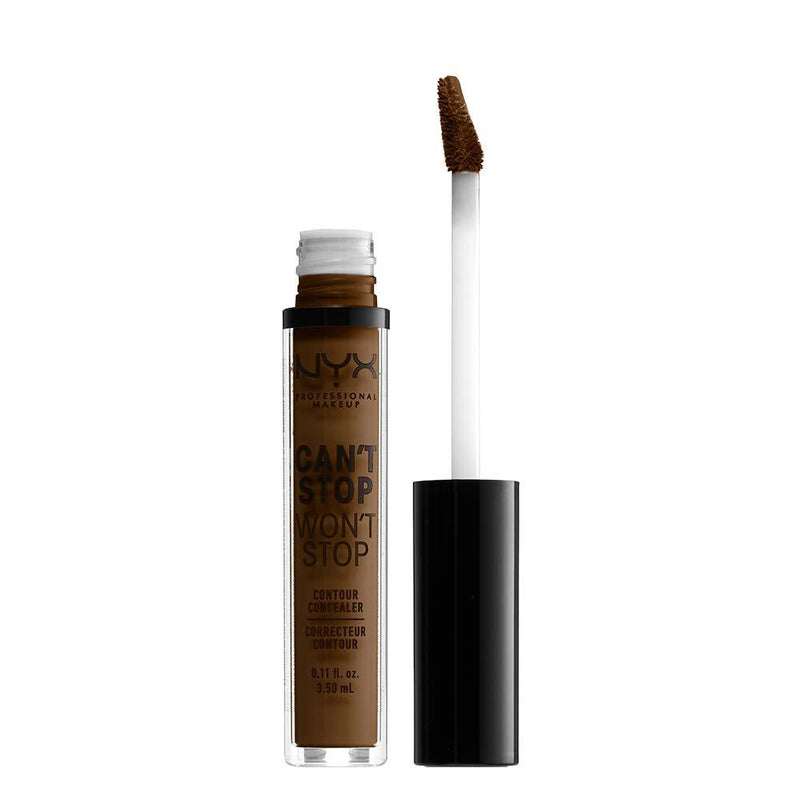NYX Can't Stop Won't Stop Contour Concealer | Walnut