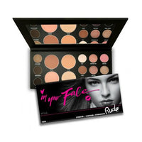 Rude In Your Face 3-in-1 Palette | Eyebrow, Eyeshadow, Contour