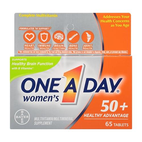 One A Day Women's Multivitamin 50+ | 65 Tablets
