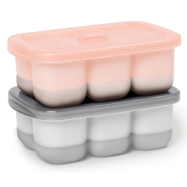 Skip Hop Easy-Fill Freezer Trays Grey/Coral