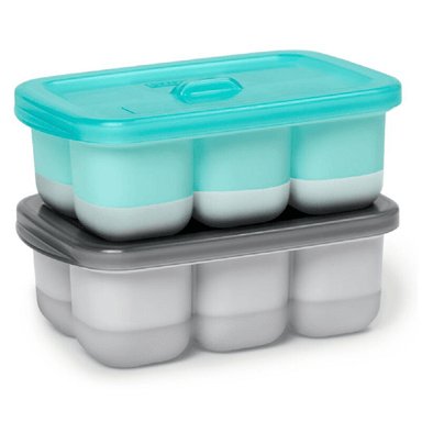 Skip Hop Easy-Fill Freezer Trays Grey/Teal