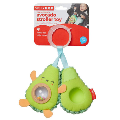 Skip Hop Farmstand Avocado Stroller Toy Skip Hop Farmstand Avocado Stroller Toy