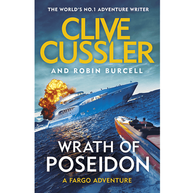 Clive Cussler Wrath of Poseidon