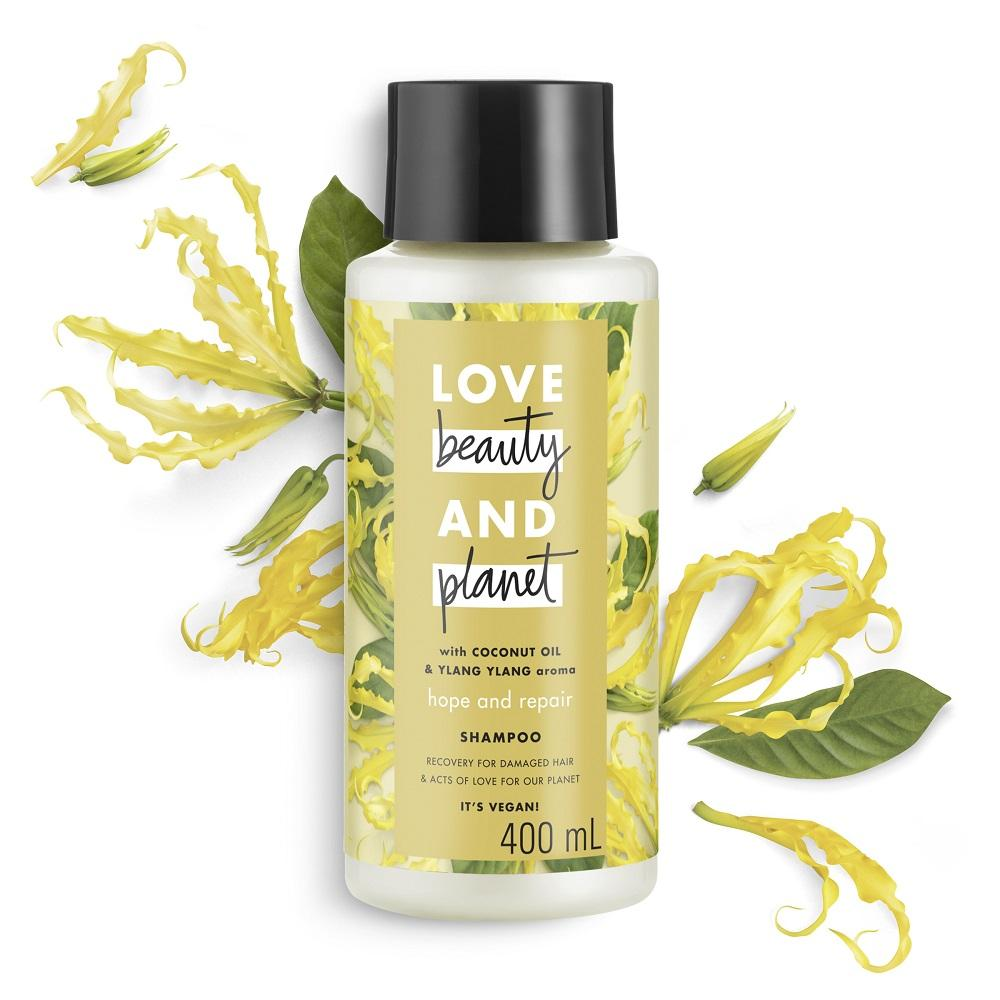 Love Beauty & Planet Hope and Repair Shampoo 400mL