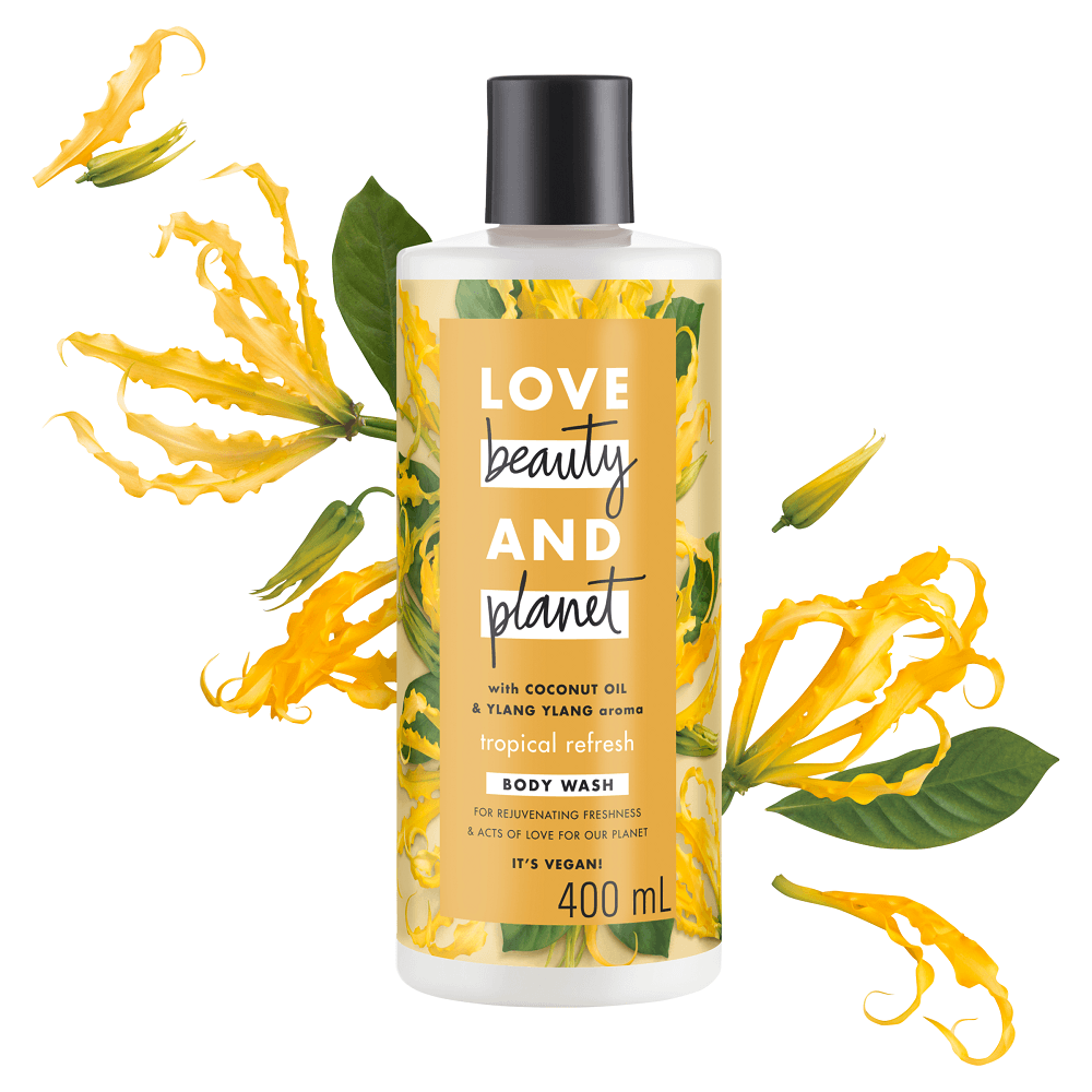 Love Beauty & Planet Tropical Fresh Body Wash 400mL