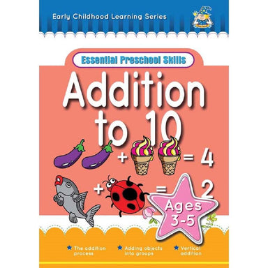 Greenhill Activity Book Ages 3-5 Addition To 10