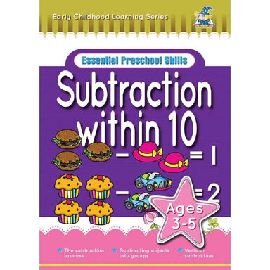 Greenhill Activity Book Ages 3-5 Subtraction Within 10