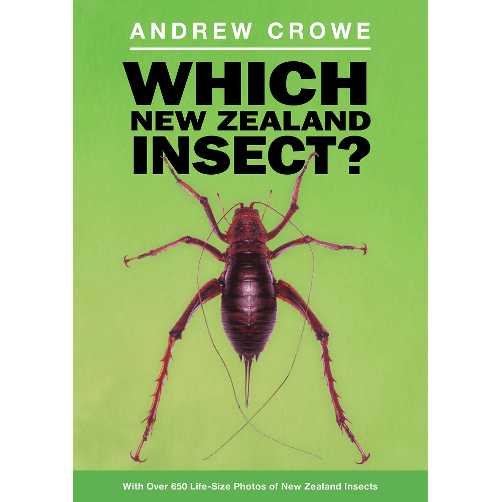 Andrew Crowe Which New Zealand Insect?