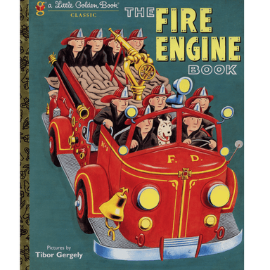 Tibor Gergely LGB The Fire Engine Book
