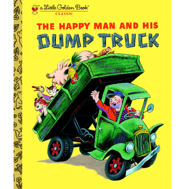 Miryam LGB The Happy Man and His Dump Truck