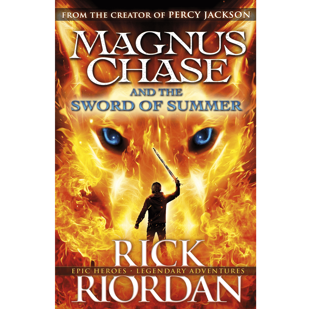Rick Riordan Magnus Chase and the Sword of Summer