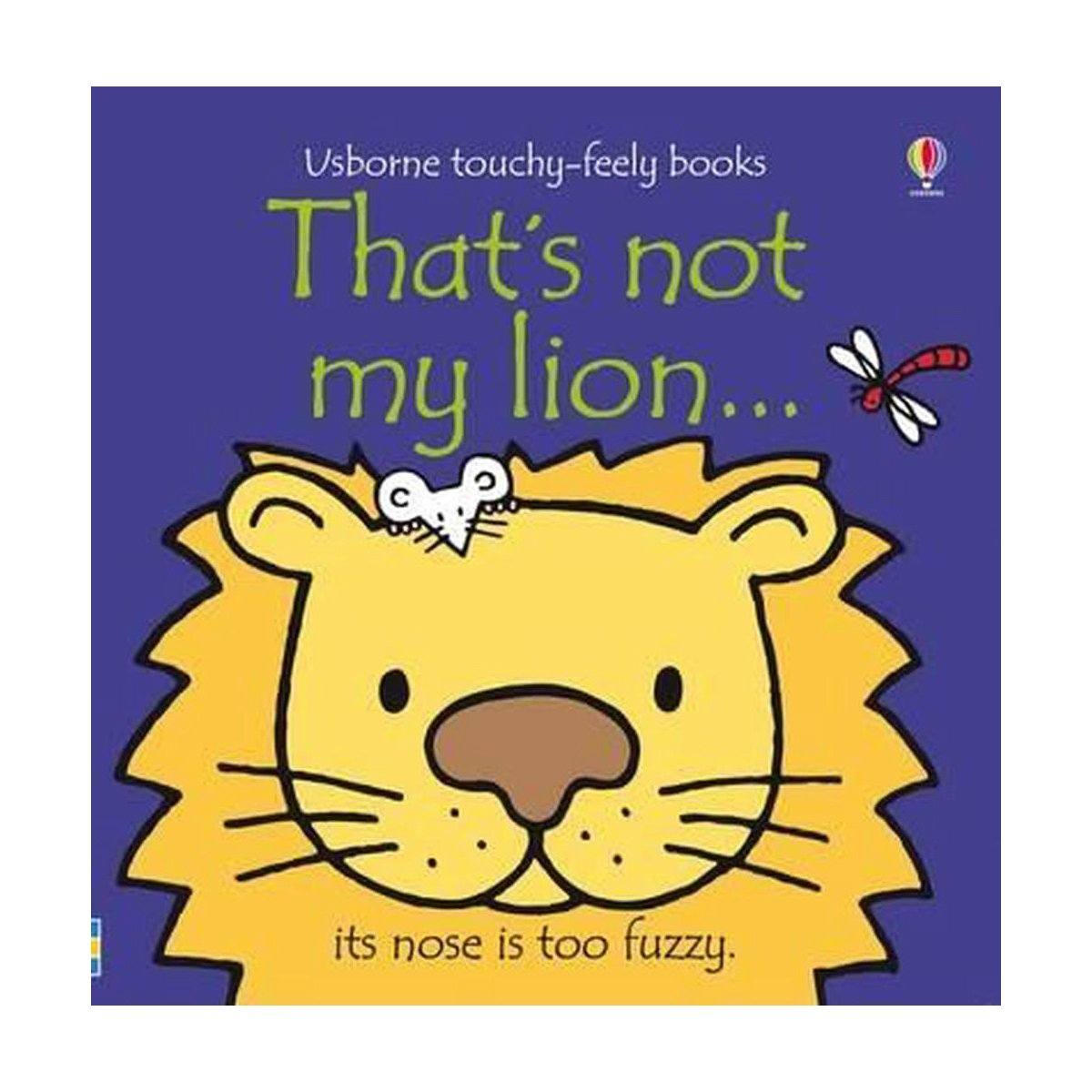 Fiona Watt and Rachel Wells That's Not My Lion…