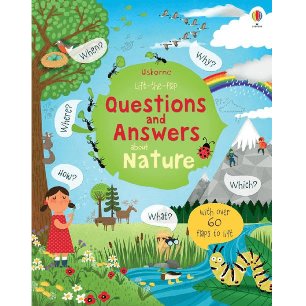 Usborne Lift-the-Flap Questions and Answers about Nature