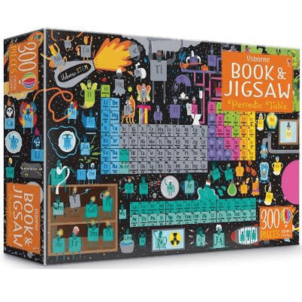 Usborne Book and Jigsaw: Periodic Table Jigsaw