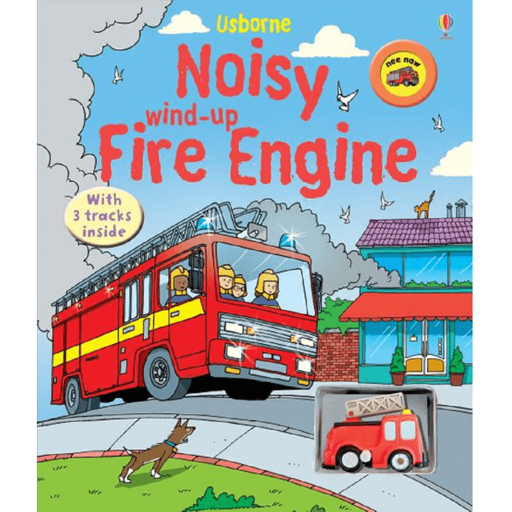 Usborne Wind-Up Noisy Fire Engine