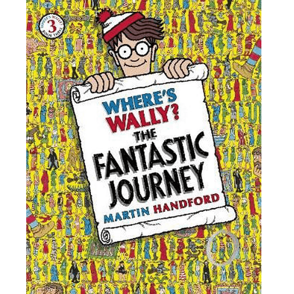 Martin Handford Where's Wally? The Fantastic Journey