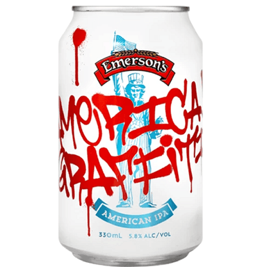 Emerson's American Graffiti IPA Beer 330mL Can