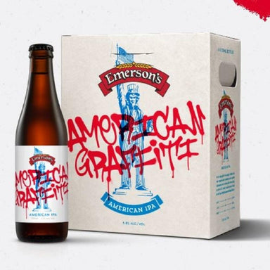 Emerson's American Graffiti IPA Beer 330mL Bottle 6 Pack
