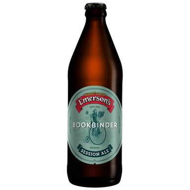 Emerson's Bookbinder Beer 500mL Bottle