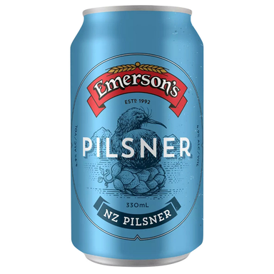 Emerson's Pilsner Beer 330mL Can