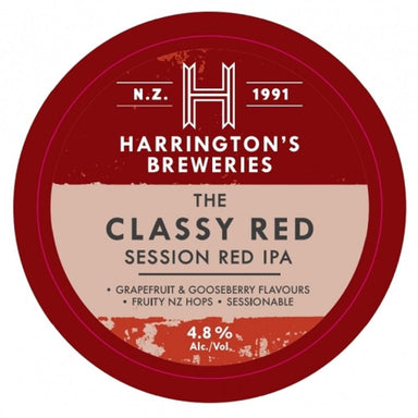 Harrington's Classy Red IPA Beer 330mL Bottle 6 Pack