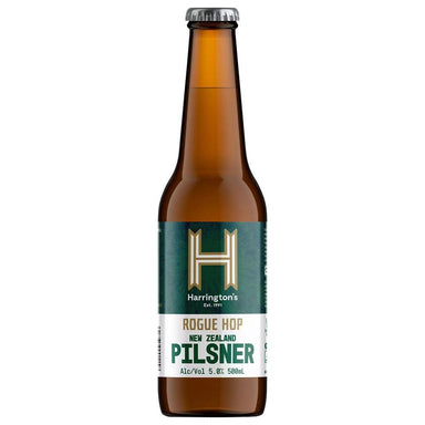Harrington's Rogue Hop Pilsner Beer 500mL Bottle